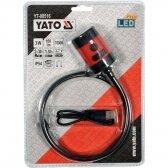 Lankstus įkraunamas prožektorius su magnetu Yato YT-08516, USB