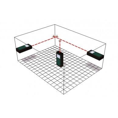 Lazerinis atstumo matuoklis Metabo LD 60 /  0,05 - 60 m. 5