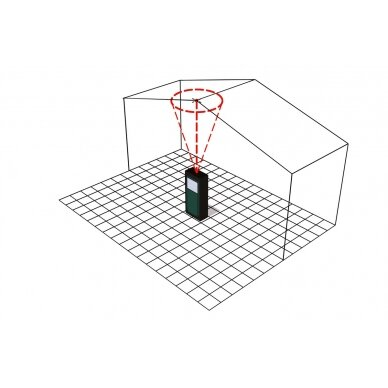 Lazerinis atstumo matuoklis Metabo LD 60 /  0,05 - 60 m. 7