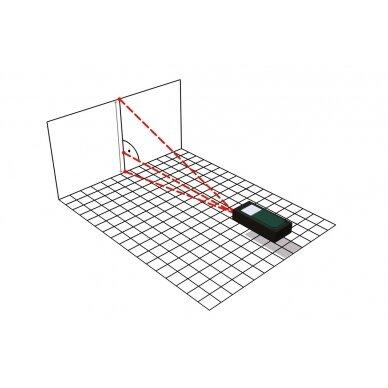 Lazerinis atstumo matuoklis Metabo LD 60 /  0,05 - 60 m. 8