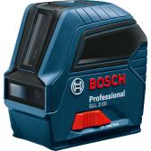 Linijinis lazerinis nivelyras Bosch GLL 2-10 Professional