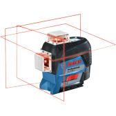 Linijinis lazerinis nivelyras Bosch GLL 3-80 C + BT 150