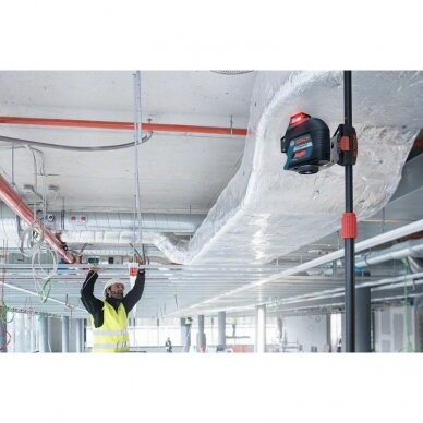 Linijinis lazerinis nivelyras Bosch GLL 3-80 Professional 5