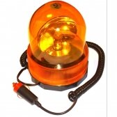 Automobilinė magnetinė įspėjamoji lemputė 360°, 12V