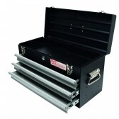 Metalinė įrankių dėžė, tuščia BGS-technic, 3 stalčiai