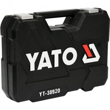 Meistro įrankių rinkinys Yato YT-38920, 60 vnt. 4