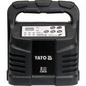 Mikroprocesorinis impulsinis akumuliatorių pakrovėjas Yato 12V, 15A, 6-200 ah