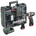 Mobilus meistro rinkinys PowerMaxx Basic 63 priedai, Metabo