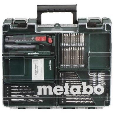 Mobilus meistro rinkinys PowerMaxx Basic 63 priedai, Metabo 3