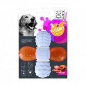 M-PETS Šunų žaislas, kiaulienos skonio, 12.8x12.8x2.6 cm