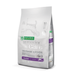 Nature's Protection Superior Care 10kg pašaras balto kailio jauniems šunims
