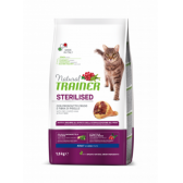 NATURAL TRAINER sausas pašaras CAT STER. HAM sterilz. su kumpiu 1.5kg