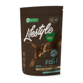 NATURE'S PROTECTION Lifestyle Grain Free White Fish Adult Cat 400g begrūdis suaugusių kačių pašaras