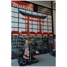"""Naujoji """"Makita"""" ekspozicija ir japoniški Torii vartai"""