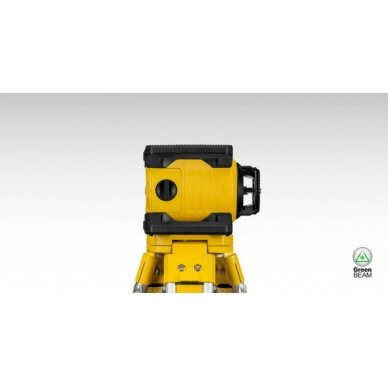 Nivelyras lazerinis rotacinis LAR160 G + REC 160 RG, GREEN, Stabila 2