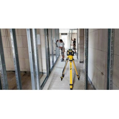 Nivelyras lazerinis rotacinis LAR160 G + REC 160 RG, GREEN, Stabila 4
