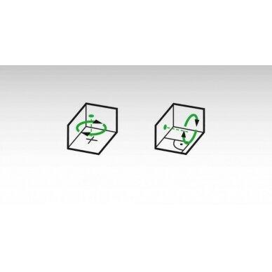 Nivelyras lazerinis rotacinis LAR160 G + REC 160 RG, GREEN, Stabila 7