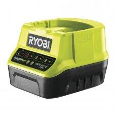 ONE+ kompaktiškasis įkroviklis Ryobi RC18120, 18V