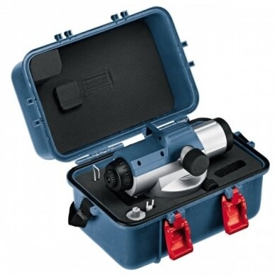 Optinis nivelyras Bosch GOL 26 D + BT 160 + GR 500 3