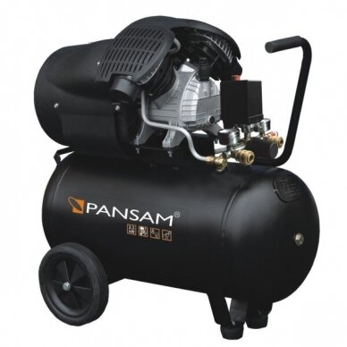 Oro kompresorius Pansam A077060, 2,2 KW, 8 bar, 50L
