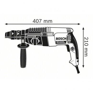 Perforatorius Bosch GBH 2-26 F Professional 5