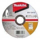 Pjovimo diskas 115 X 1 MM RST/ Metalui Makita B-12217