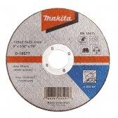 Pjovimo diskas 125 X 2,5 A30S Metalui Makita D-18677