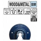 Pjovimo peilis metalas medis 87 mm, BiM Sonicrafter MT 18 LT, CMT