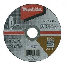 Pjovimo diskas 125 X 1 MM RST/ Metalui Makita B-12239
