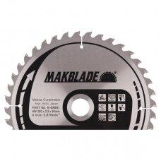 Pjovimo diskas 260x30x2,3mm 40T 5° LS/LH/LF Makita B-08981 (Švariam pjuviui)