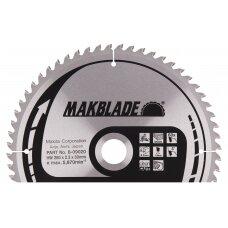Pjovimo diskas 260x30x2,3mm 60T 5° LS/LH/LF Makita B-09020