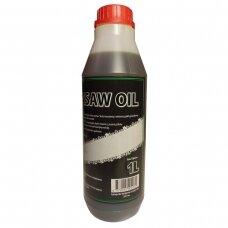 Pjovimo grandinių alyva 1 L CHAINSAW OIL