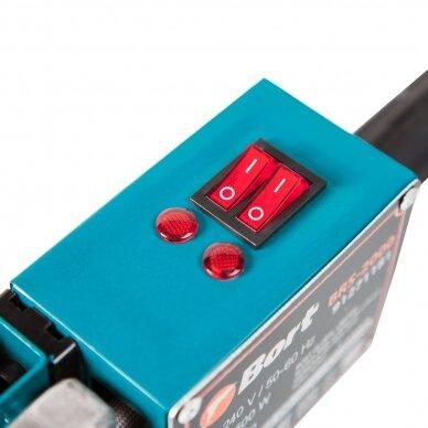 Plastikinių vamzdžių suvirinimo aparatas BORT BRS-2000 3