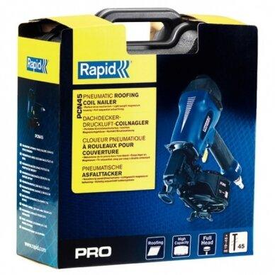 Pneumatinė viniakalė PCN45, 19-45mm, nr 45 vinims PRO, Rapid 4