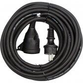 Prailginimo kabelis guminis IP44, 3x1,5mm² 40m YATO