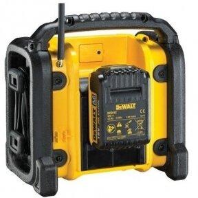 Radijo grotuvas DeWALT DCR020-QW, 10,8-18V (be akum. ir be krov.)