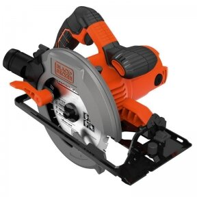 Rankinis diskinis pjūklas CS1550 / 190 mm / 1500W, Black+Decker