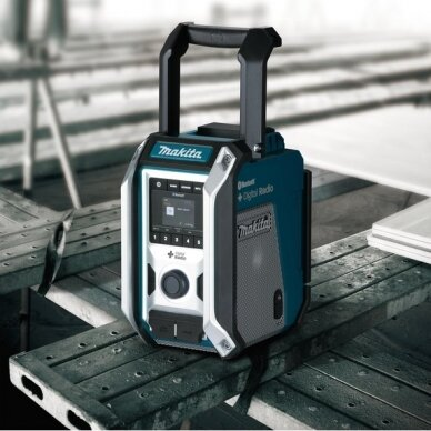 Radijas Makita DMR115 (AM, DAB, DAB+, AUX, Bluetooth, USB) 3