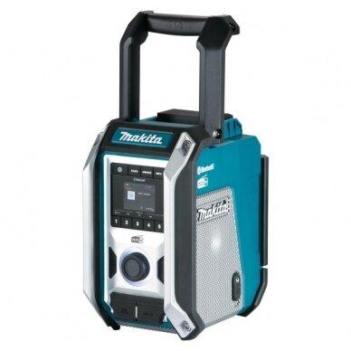 Radijas Makita DMR115 (AM, DAB, DAB+, AUX, Bluetooth, USB)