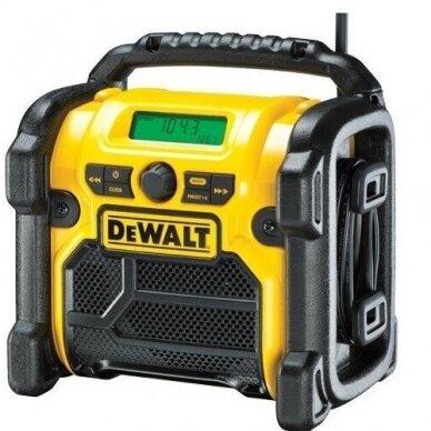 Radijo grotuvas DeWALT DCR020-QW, 10,8-18V (Nemokamas pristatymas)