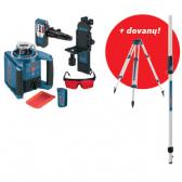 Rotacinis lazerinis nivelyras Bosch GRL 300 HV Professional + dovanų BT 160 ir GR 240