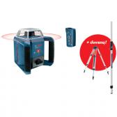 Rotacinis lazerinis nivelyras Bosch GRL 400 H + dovanų BT 160 ir GR 240