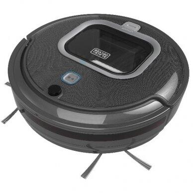 Robotas - dulkių siurblys RVA425B SmartTech Bluetooth, Black+Decker