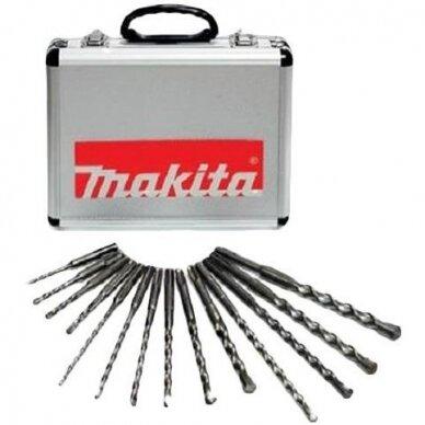 SDS-PLUS Grąžtų Komplektas(5-16mm) Makita D-21325 2