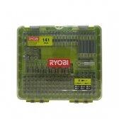 Šimtas keturiasdešimt vieno suktuvo antgalių rinkinys Ryobi RAKD141