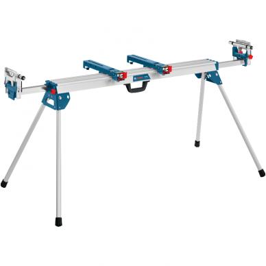 Skersinio pjovimo staklės Bosch GCM 12 SDE Professional + darbo stalas GTA 3800 3
