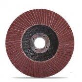 Šlifavimo diskas lapelinis, plokščios formos, P40, 125X22,2 mm