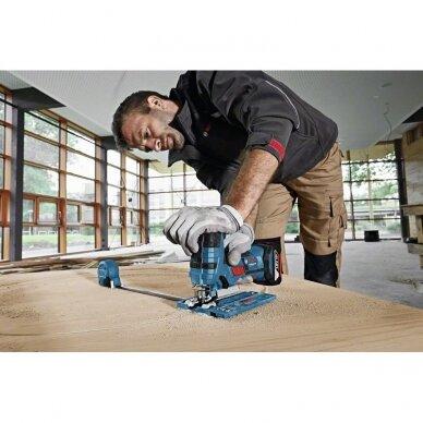 Akumuliatorinis siaurapjūklis Bosch GST 18 V-LI S solo lb Professional 5