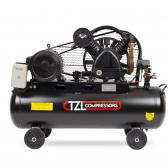 Stūmoklinis diržinis kompresorius TZL V650/12.5, 100l, 400V