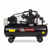 Stūmoklinis diržinis kompresorius TZL W1060/8-200L, 200l, 400V